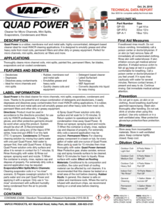 Quad Power Vapco Company Innovating Hvacr